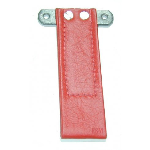Door Pull Strap (Leather) RED