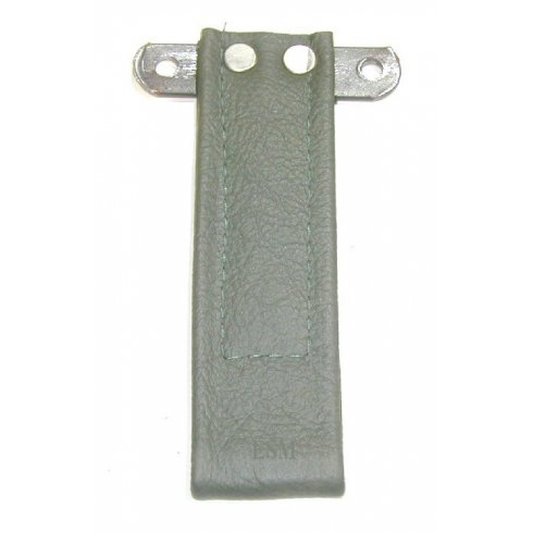 Door Pull Strap (Leather) SUEDE GREEN