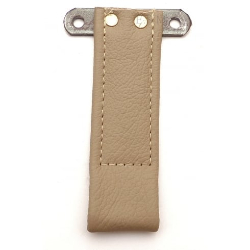 Door Pull Strap-No Plate 1950-1956 (Leather) BEIGE