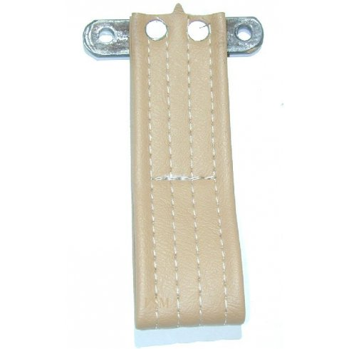 Door Pull Strap (Vinyl) TAN/BISCUIT