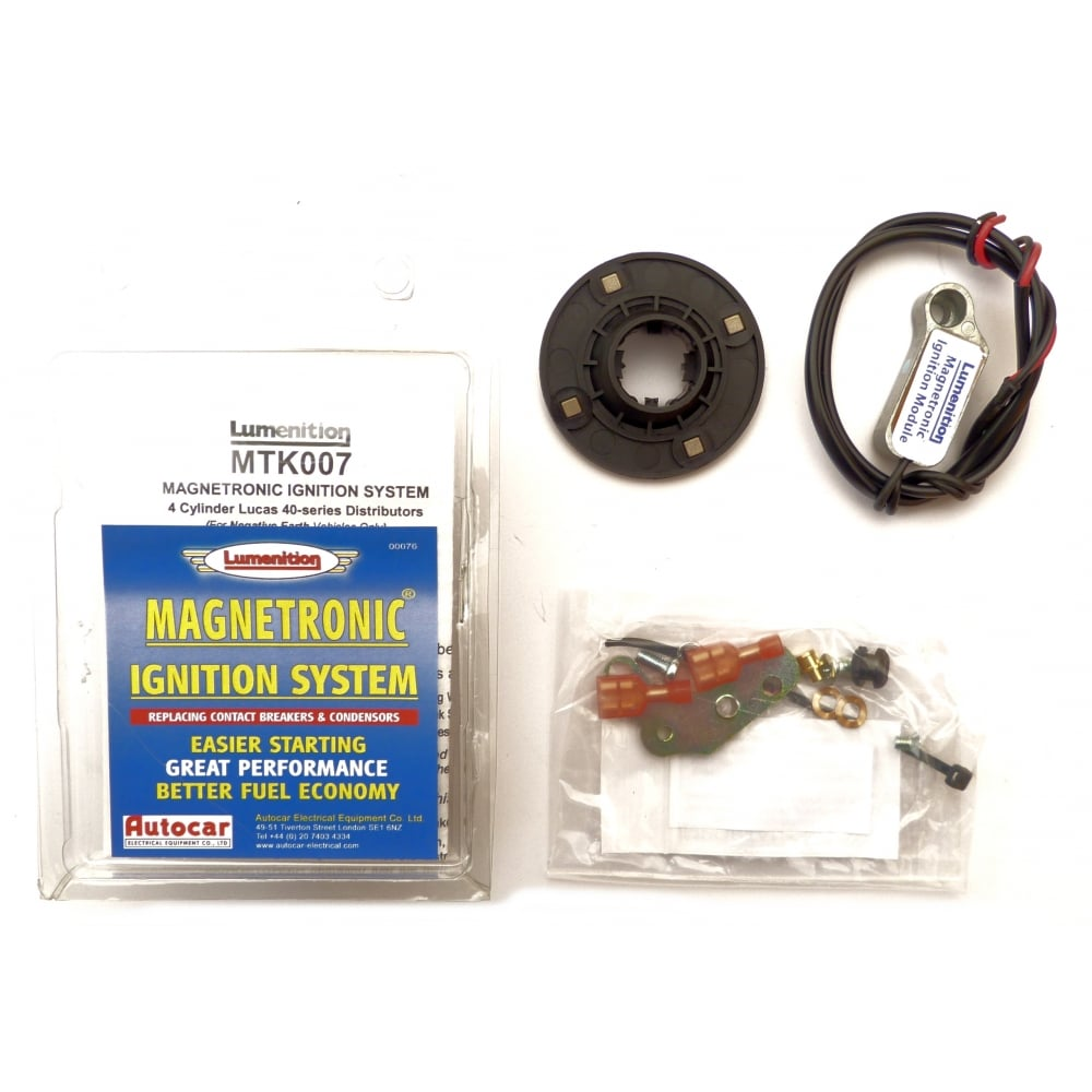 Electronic Ignition Kit-Lumenition (Magnetronic) Fits 45D4 Distributor  (Negative Earth Only) ...
