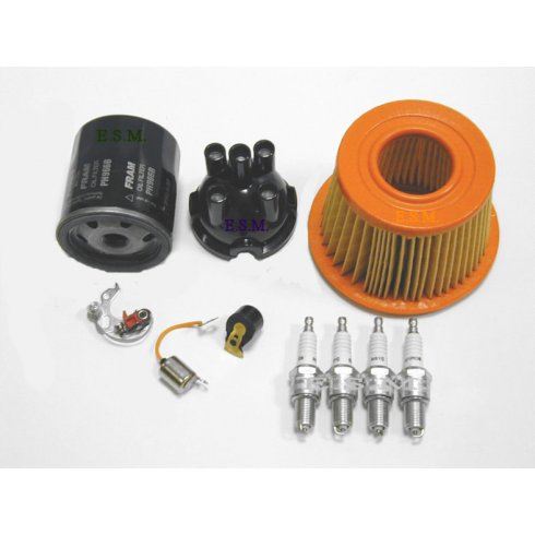 Engine Service Kit (Push-In H.T.Lead type cap with spin-on oil filter)