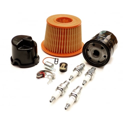 Engine Service Kit (Screw-In H.T.Lead type cap with spin-on oil filter)