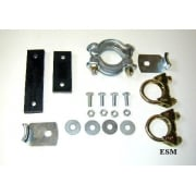 Exhaust Fitting Kit O.H.V Saloon/Traveller/Convertible *PRESSED STEEL CLAMP*