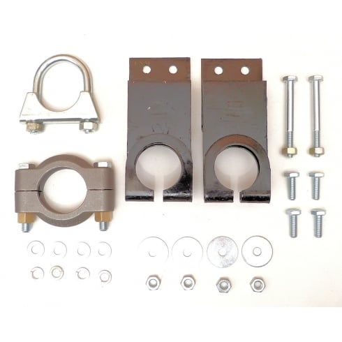 Exhaust Fitting Kit - Van & Pick-Up Only (With ORIGINAL Type Mounts) *CAST CLAMP*