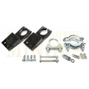 Exhaust Fitting Kit - Van & Pick-Up Only (With ORIGINAL Type Mounts) *PRESSED STEEL CLAMP*
