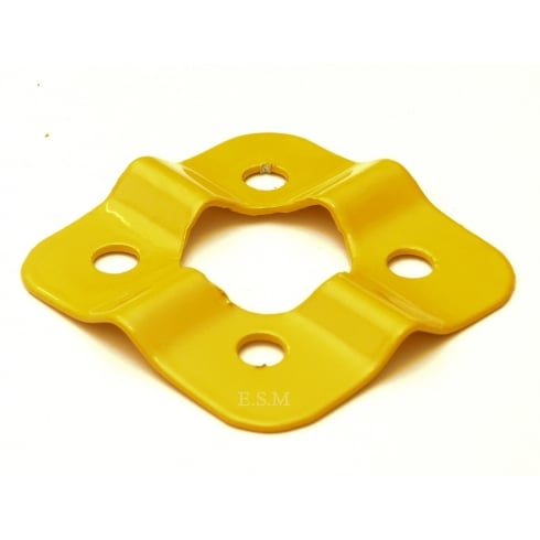 Fan Blade Stiffener (Painted Yellow)