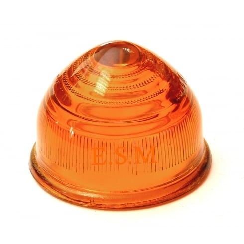 Flasher/Indicator Lens (Domed Amber)