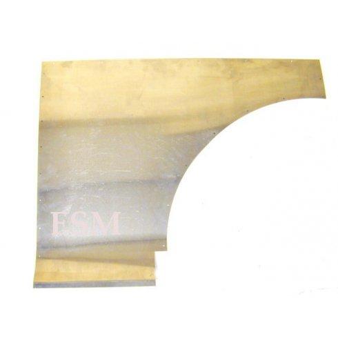 Front Quarter Aluminium Panel L/H (Pre-Drilled Holes)