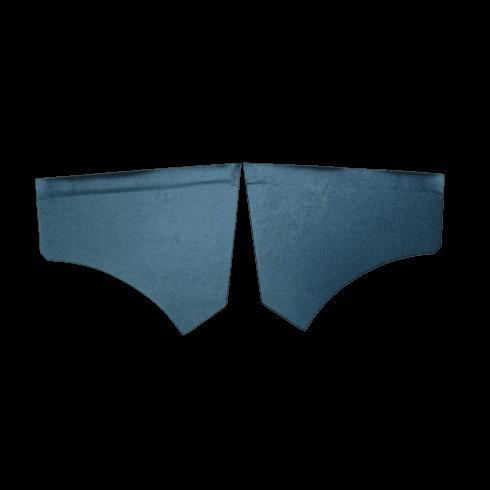 Front Scuttle Panels (Pair) BLACK