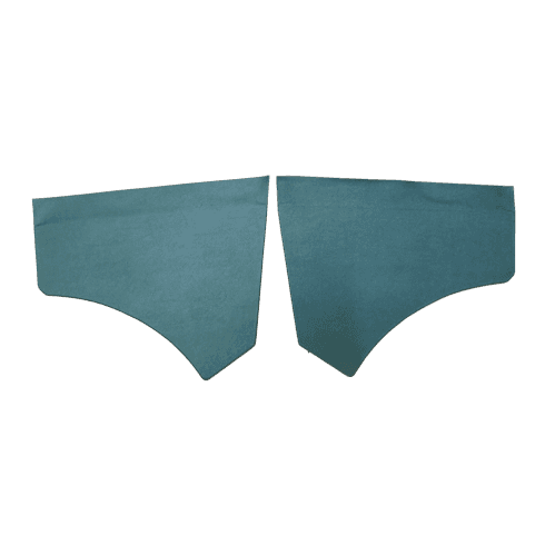 Front Scuttle Panels (Pair) SUEDE GREEN