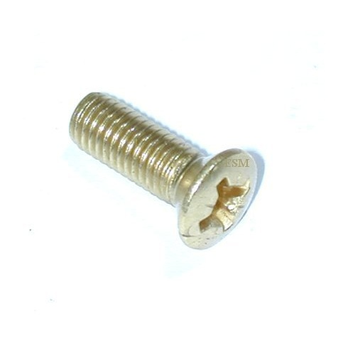 Gearbox Tunnel Cover - Brass Floor Screws