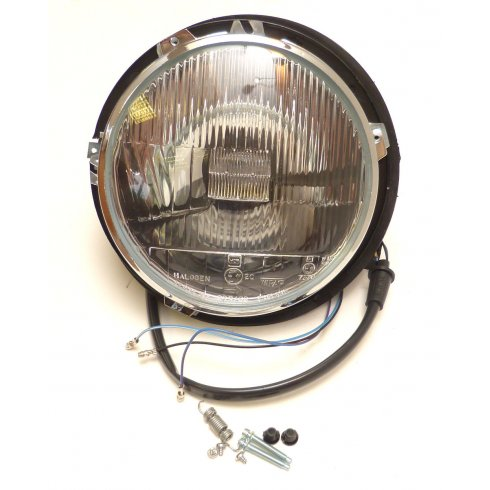 Headlamp / Headlight - Complete R/H/D - HALOGEN Type Without Pilot (Less Outer Bezel) *DETAILS*