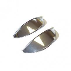 Headlamp Peak-(Pair) Stainless Steel