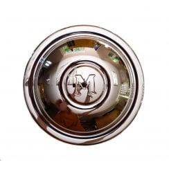 "Hubcap (""M"") 1951-1953 (8.1/2"" Diameter) Chrome"