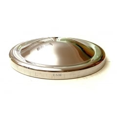 "Hubcap-Plain 54-72 Van/Pick-Up (8.3/4"" Dia) Stainless"