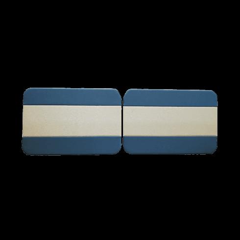 Interior Door Panels 1962-64 2-Door/Traveller/Convertible (BLUE)