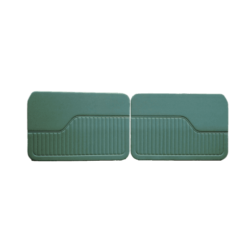 Interior Door Panels 1964-71 (2-Door/Traveller/Convertible) GREEN