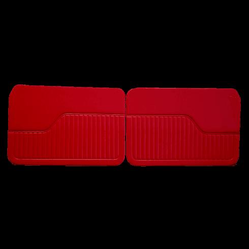 Interior Door Panels 1964-71 (2-Door/Traveller/Convertible) RED