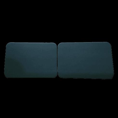 Interior Door Panels-Plain 1948-1959 (2-Door/Traveller/Convertible) SUEDE GREEN