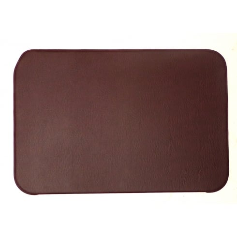 Interior Door Panels-Plain+Piping - PAIR -1948-1959 (2-Door/Traveller/Convertible) Maroon w/ Maroon Piping