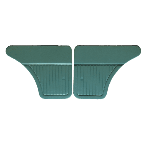 Interior Door Panels-Rear 1964-71 (4-Door) GREEN