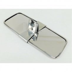 Interior Mirror - Polished Stainless