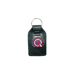 "Key Fob ""BMC Rosette"" (Leather)"