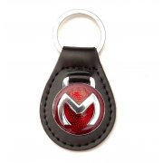 "Key Fob ""M"" (Leather)"