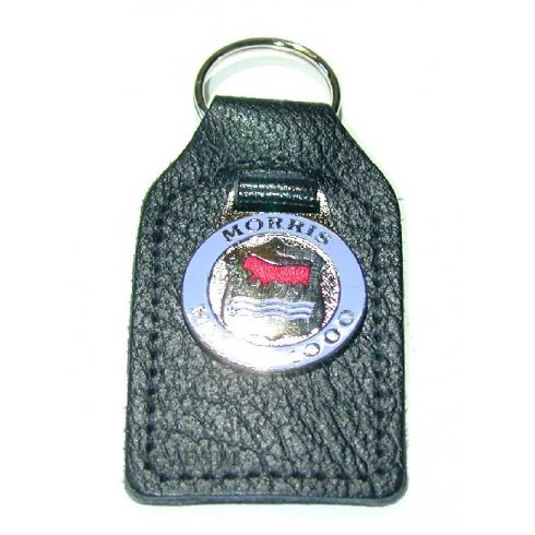 "Key Fob ""MORRIS 1000"" (Leather)"