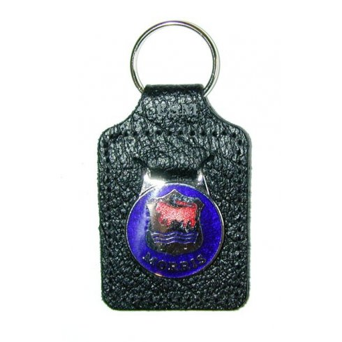 "Key Fob ""MORRIS"" (Leather)"