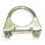 """Large Bore Exhaust """"U"""" Clamp (3 Required) Each"""