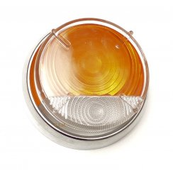 Lens-Sidelight/Flasher Amber/Clear (For LMP170) PATTERN