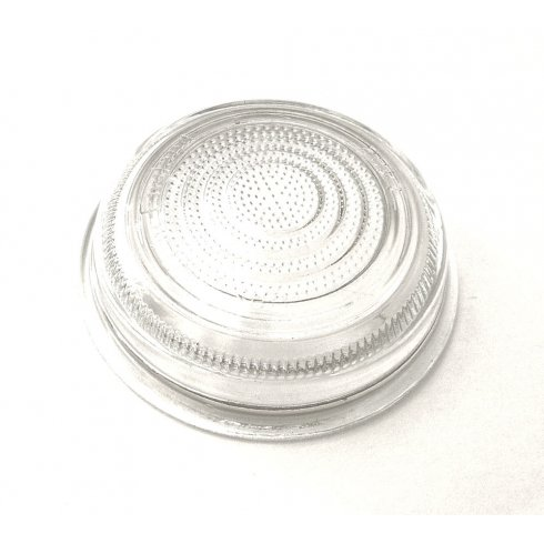Lens-Sidelight/Flasher-Flat White (For LMP138) L488 Type