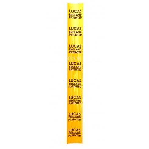 """""""LUCAS"""" Wiring Loom Sticker (EACH)"""