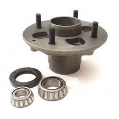 "Marina Front Hub (NEW) MINOR 4"" PCD - With Bearings,studs & Seal"