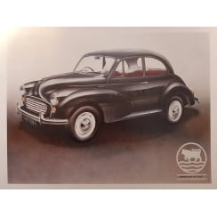 "Morris Minor Poster 20"" x 15"" (Saloon)"