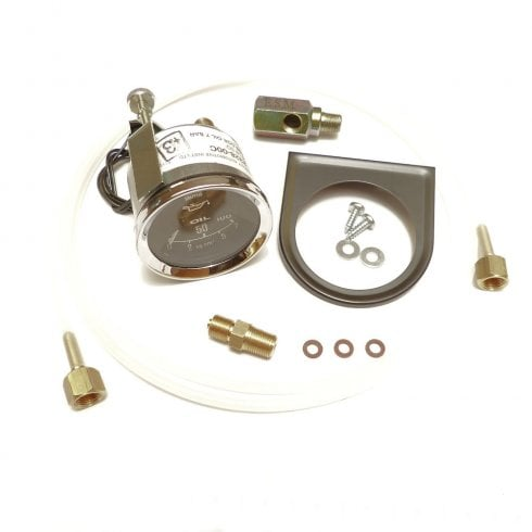 Oil Pressure Gauge Kit-Smiths 52mm (Mechanical)