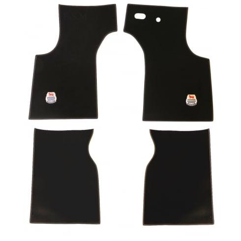 Overmat Set- DELUXE - Black R/H/D (4 Piece Set Front & Rear)