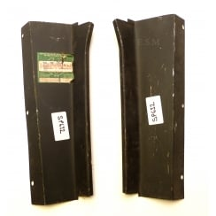 PAIR of Rear Kick Plates - 4-Door Saloon L&R - LMC Hadrian UK Made - New Old Stock (SAME AS RP110BL/R)