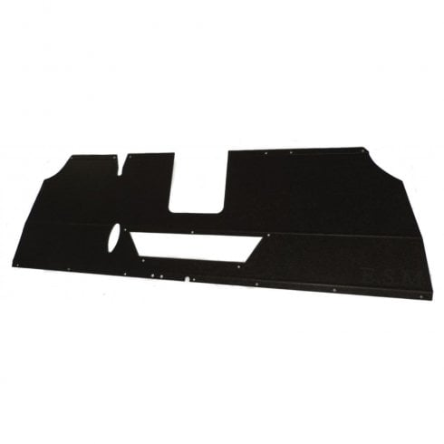 Parcel Tray / Shelf (1959-`64 With Cut Out For Heater Duct) BLACK L/H/D