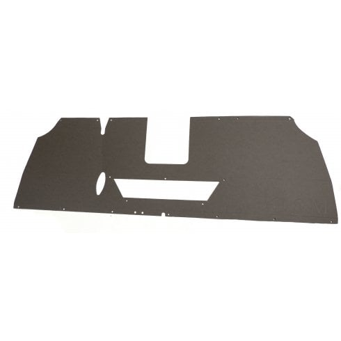 Parcel Tray / Shelf (1959-`64 With Cut Out For Heater Duct) BLACK R/H/D