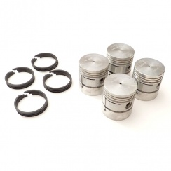"Piston (Set 4) 918cc Side Valve (+040"") 11580/40"