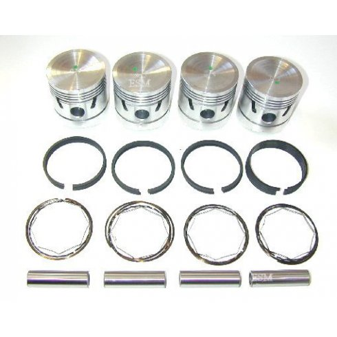 Piston (Set 4) 948cc +030""
