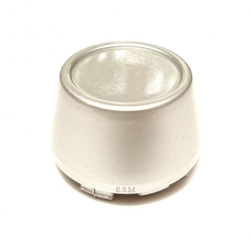 Plastic Centre Cap (SILVER) For WHL120 Minator Alloy Road Wheel (No Badge)