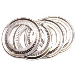 Polished Alloy Wheel Trims (Set Of 4) (Not MM or Series II )