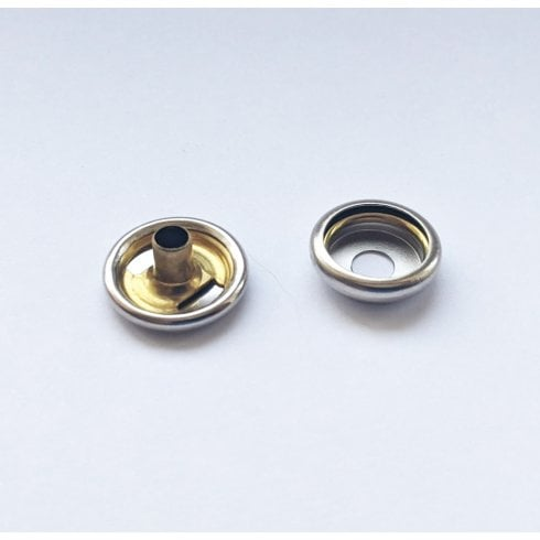 Press Stud Fastener (Female-Fits To Hood) 2 Pieces