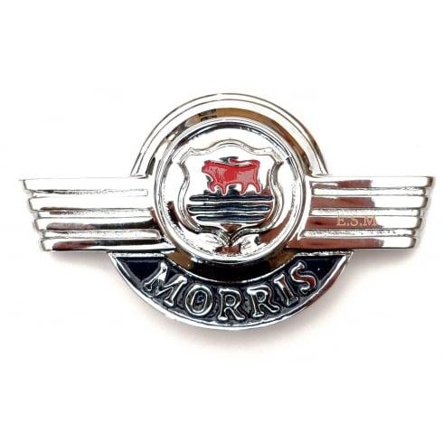 Bonnet Front Badge-Chrome (MM/Series II/Van/Pick-Up)