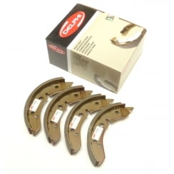 "Rear Brake Shoes-Set 4 (7"" All Models) LOCKHEED/DELPHI (LS1001)"