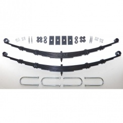 Rear Leaf Spring Kit - 8 Leaf Springs (Van & Pick-Up) RUBBER BUSHES